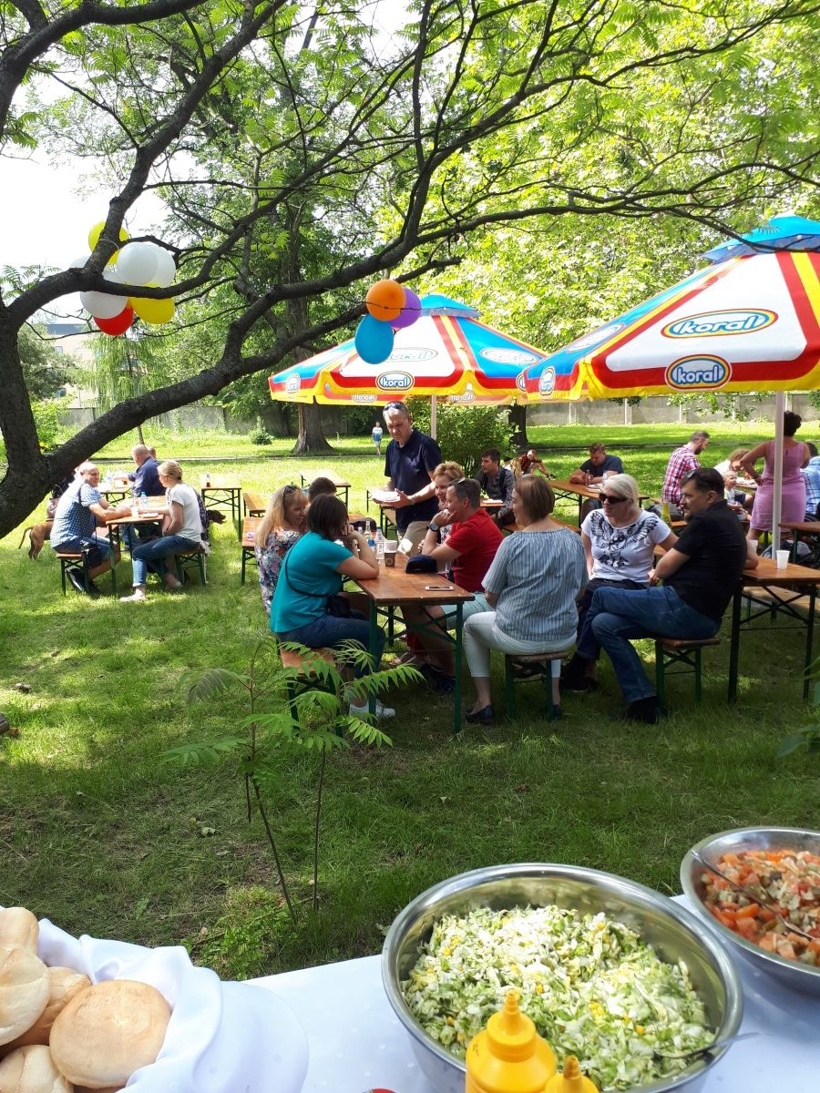 Piknik dla pracowników irodzin