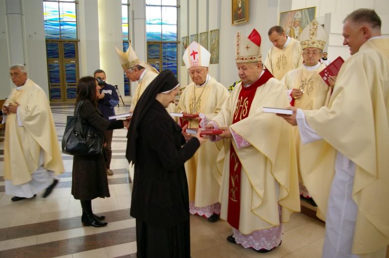 Msza św. wSanktuarium wŁagiewnikach