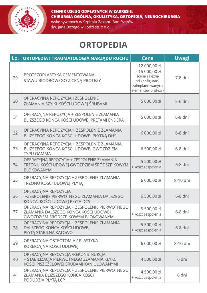 Ortopedia, cz3
