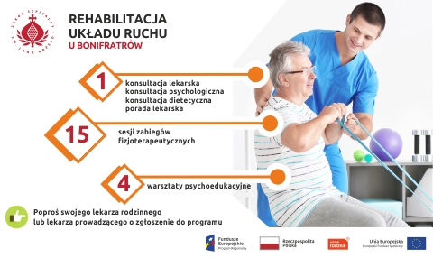 Rehabilitacja układu ruchu u Bonifratrów