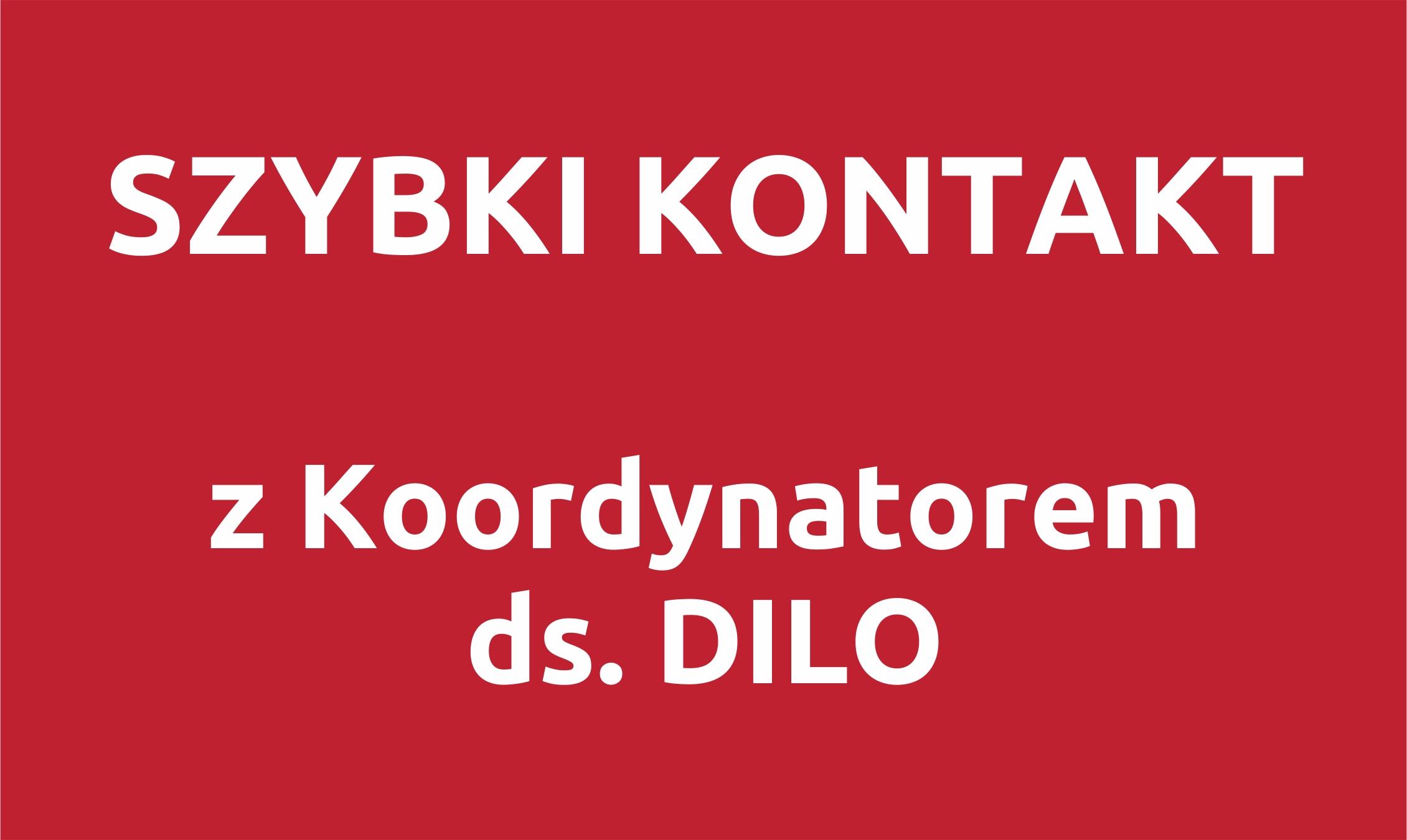 Koordynator ds.DILO