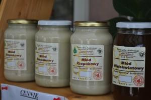 Miód z pracowni pszczelarskiej Bonifratrzy